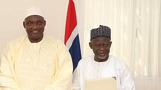 Gambian president fires veep, appoints woman as replacement