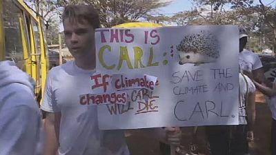 Climat : les étudiants du Kenya réclament une action