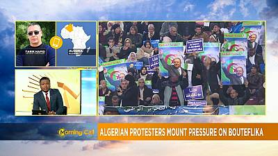 Protesters in Algeria press on for Bouteflika's resignation [Morning Call]