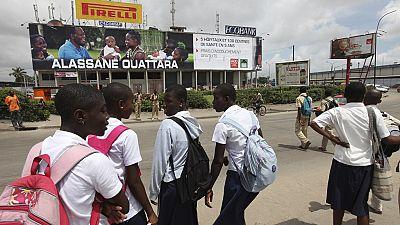 Côte d'Ivoire : heurts entre policiers et étudiants à Abidjan