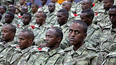 Somali soldiers protest non-payment of salaries