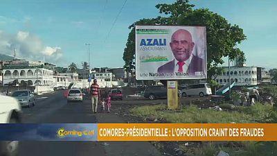 Présidentielle aux Comores : l'opposition craint des fraudes [Morning Call]