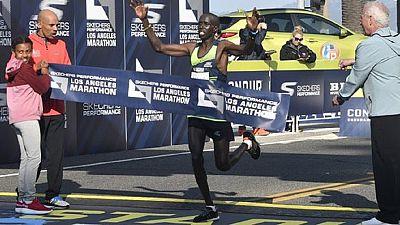 Les Africains brillent au marathon de Los Angeles