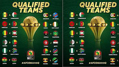CAN Egypte 2019 : les équipes qualifiées sont au complet