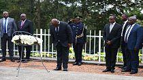 Rwanda : Tshisekedi au mémorial du génocide à Kigali, une première