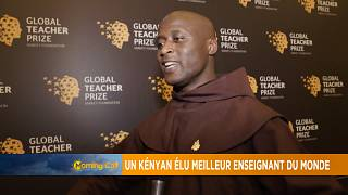 Kenyan wins global teacher prize [The Morning Call]