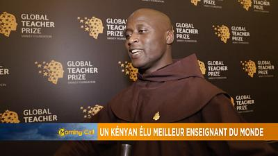 Kenyan wins global teacher prize [The Morning Call]