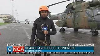 Firsthand account of cyclone-hit Beira – eNCA reporter speaks to Africanews