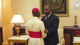 Gabon: Ali Bongo reçoit des chefs religieux pour «rendre grâce à Dieu »