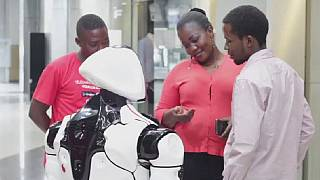 Meet Kinshasa's first artificial intelligence robot