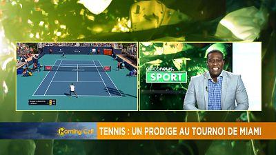 Tennis : un prodige à l'Open de Miami