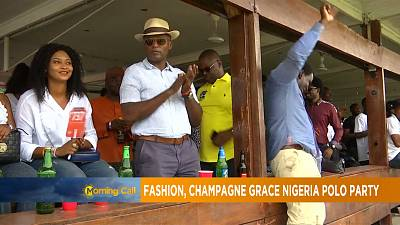 Nigeria Polo champagne turned party [The Morning Call]