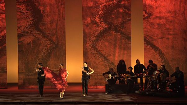 Flamenco legend Sara Baras performs to a sell-out crowd in Abu Dhabi