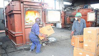 Kenyan authorities burn 'weak' condoms worth $100,000