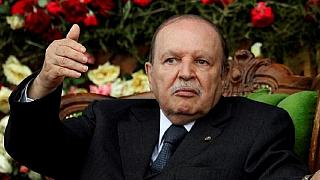 Bouteflika at the time of his resignation