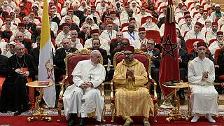 Highlights of the pope's visit to Morocco