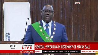 Sénégal : Macky Sall a prêté serment pour un second mandat