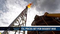 Oil prices set for biggest rise since 2009 [Business Africa]