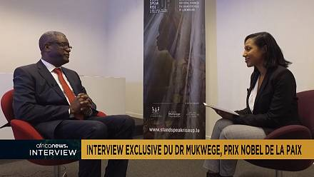 Exclusive with Congolese nobel laureate winner Dr Denis Mukwege
