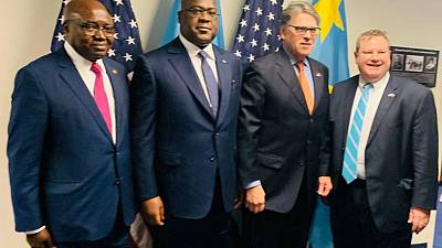 Ebola, trade and security to be discussed as DRC's Tshisekedi visits US