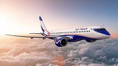 Nigerian airline orders 10 jets from Brazil's Embraer