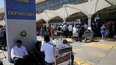 Kenya shuts terminal of main airport in Nairobi over fire incident