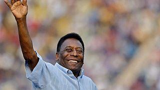 Football : la légende Pelé hospitalisée à Paris