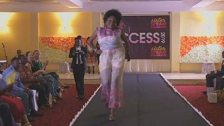 Un défilé de mode pour handicapés vise à changer les mentalités au Cameroun