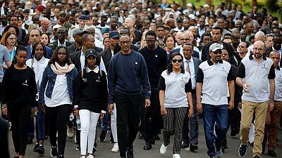 Kwibuka25: solemn walk for genocide victims in Kigali