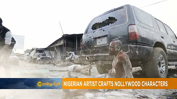 Nigeria: Hakeem Onilogbo's make-up effects in Nollywood [The Morning Call]