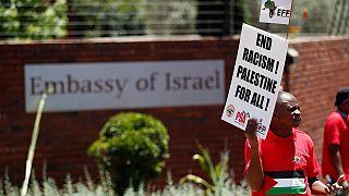 L'Afrique du Sud abaisse le niveau de sa représentation diplomatique en Israël