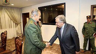 Libye : le G7 fait pression sur les forces du maréchal Haftar