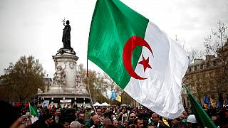 Algerians in Paris celebrate Bouteflika's resignation