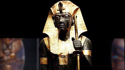 Egypte : l'exposition du pharaon Toutankhamon se prépare