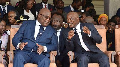 RDC : relations entre Kabila et Tshisekedi, du plomb dans l'aile