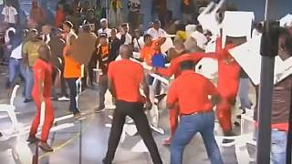 Chaos erupts between South Africa left-wing parties supporters [No Comment]