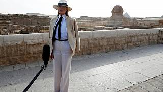 Trump hypes Egypt tourism: says Melania 'was impressed' with Pyramids