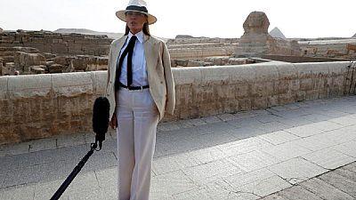 Trump hypes Egypt tourism: says Melania 'was impressed' with Pyramids