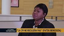 [Vidéo] Interview exclusive de Fatou Bensouda, procureure de la CPI