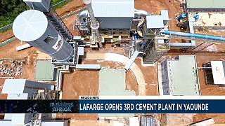 Lafarge opens 3rd cement plant in Yaounde [Business Africa]