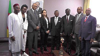 Coupe du monde Féminine de la FIFA : le trophée au Cameroun