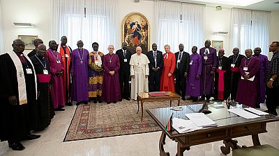 South Sudanese leaders in Vatican retreat