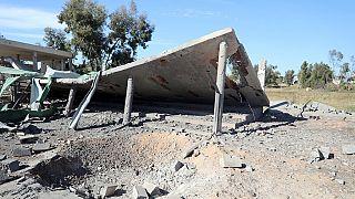Libya's UN-backed government denounce school air strike