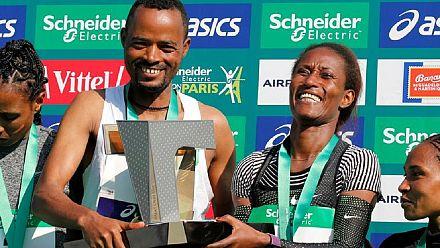 Les Éthiopiens dominent le marathon de Paris