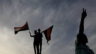 Sudanese soldiers 'stand by' protesters