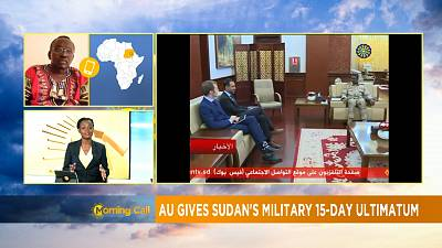 AU gives Sudan's military 15-day ultimatum [The Morning Call]