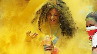 Thousands rejoice as Color Run reaches Egypt [No Comment]