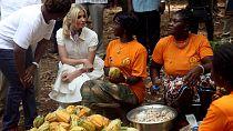 En Côte d'Ivoire, Ivanka Trump se fait le porte-voix des femmes du secteur du cacao