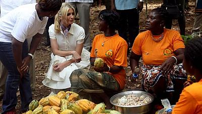 Ivanka Trump in Ivory Coast: Meets VP, visits cocoa farm