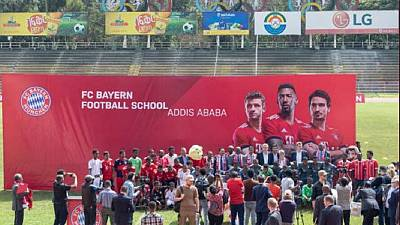 German giants FC Bayern opens football academy in Ethiopia - first in Africa